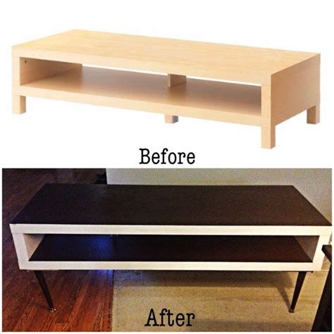 ikea tv cabinet hack diy ikea hack lack tv stand to mid century inspired
