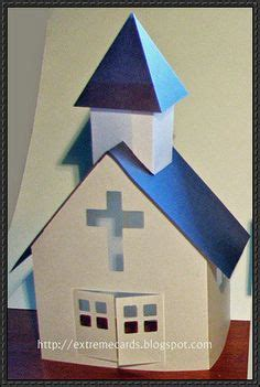 How To Make A Church Out Of Paper - 3d church template family project a church model