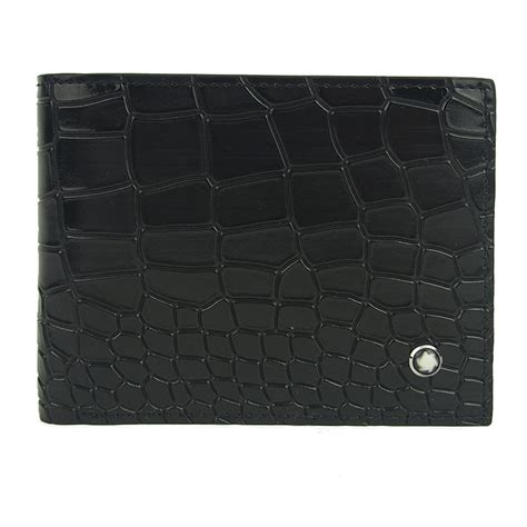 Handmade Leather Wallet Pattern - fashion crocodile pattern handmade vintage leather wallet