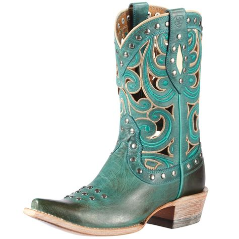 teal cowboy boots 108 best images about boots teal d on western