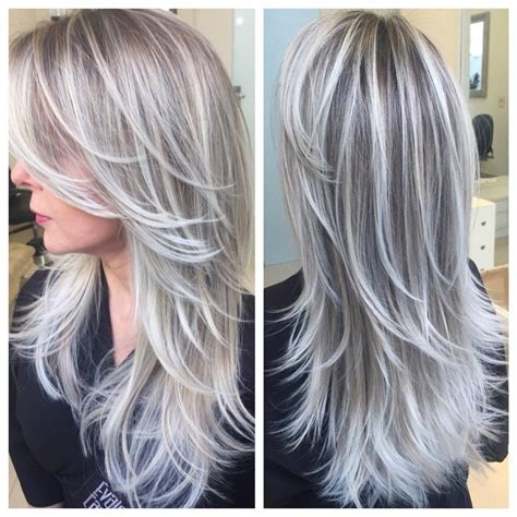 will blonde highlights help hide grey best highlights to cover gray hair wow com image
