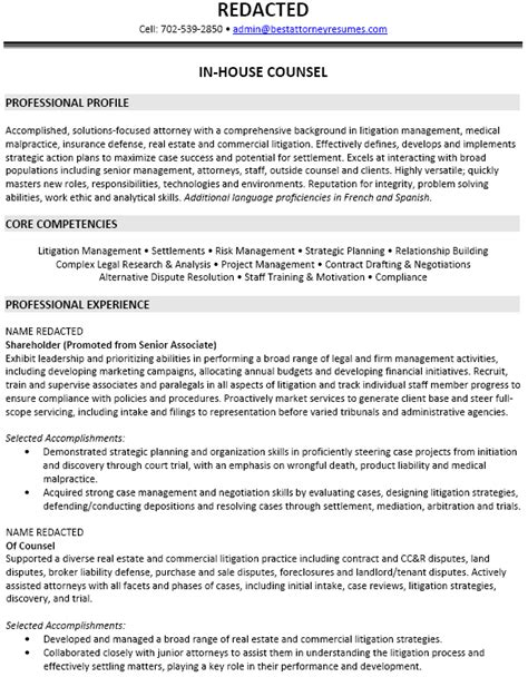 Insurance Attorney Cover Letter by Insurance Defense Attorney Resume Sle Recentresumes