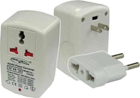 2 units travel universal voltage converter 100 watt