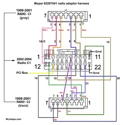jeep tj speaker wiring diagram mercury wiring