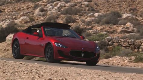 maserati red 2017 2017 maserati granturismo convertible sport youtube