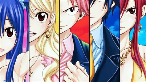 wallpaper anime fairy tail fairy tail wallpapers hd wallpapersafari