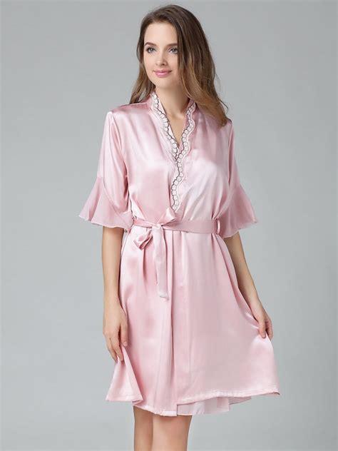 silk robe silk chemise silk robe set