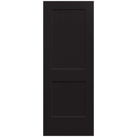 Composite Interior Doors Jeld Wen 30 In X 80 In Molded Smooth 6 Panel Brilliant White Solid Composite Interior