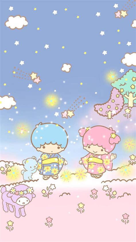 wallpaper iphone 6 little twin star 17 best images about kawaii on pinterest my melody