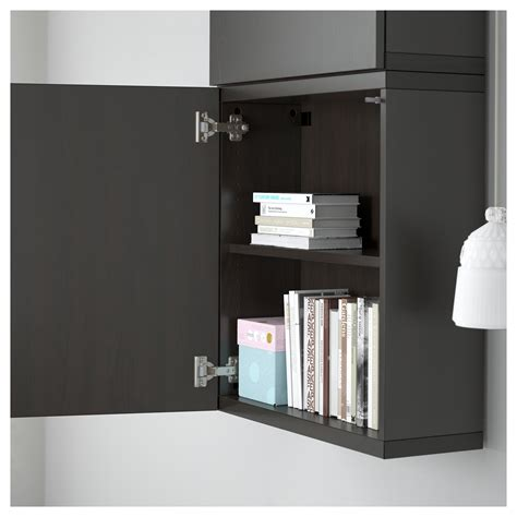 ikea besta cabinet doors best 197 wall cabinet with 2 doors lappviken black brown