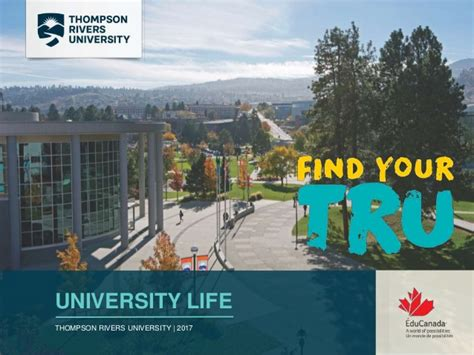 Thompson Rivers Mba by Tru 2017 Recruitment
