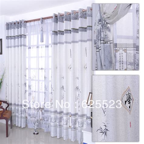chinese curtains free shipping curtains for living room ready made curtain