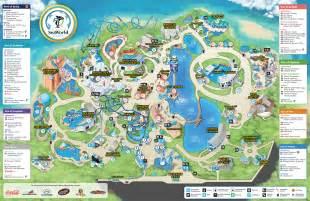 seaworld park map seaworld orlando