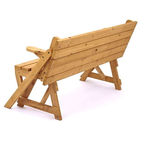 bench turns into picnic table plans picnic table turn to bench diy stuffs pinterest