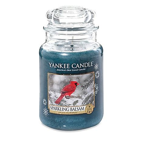 bed bath and beyond yankee candle yankee candle 174 sparkling balsam scented candles bed bath