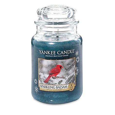 Yankee Candle Large Jar Candle Lilin Wangi Balsam Cedar buy yankee candle 174 sparkling balsam large jar candle from bed bath beyond