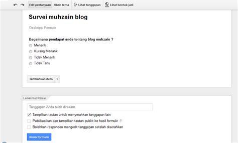 google formulir survei dan formulir yang mudah dibuat cara mudah membuat formulir survei blog abang muhzain
