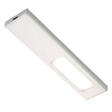 quadra u led under cabinet light sls quadra diffused led in cabinet light