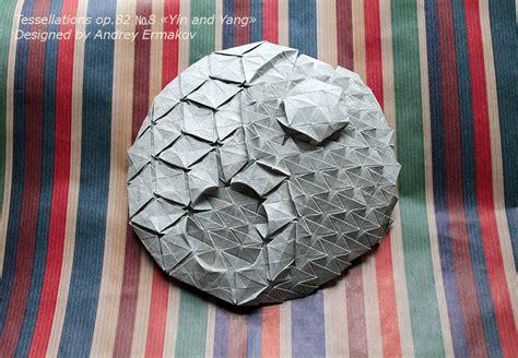 Origami Yin Yang - origami yin yang 28 images origami chi symbol by sy