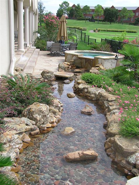 Backyard Creek Ideas Landscape River Design Landscape River Construction By