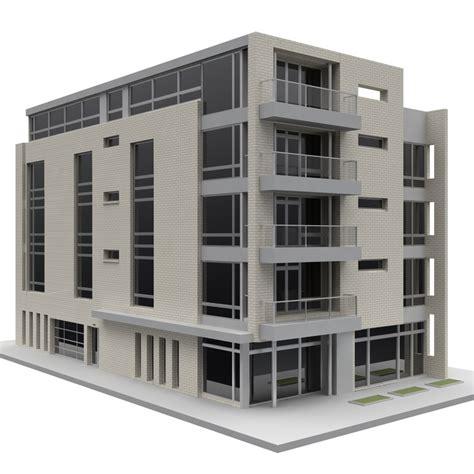 3d building design free 3d model building office