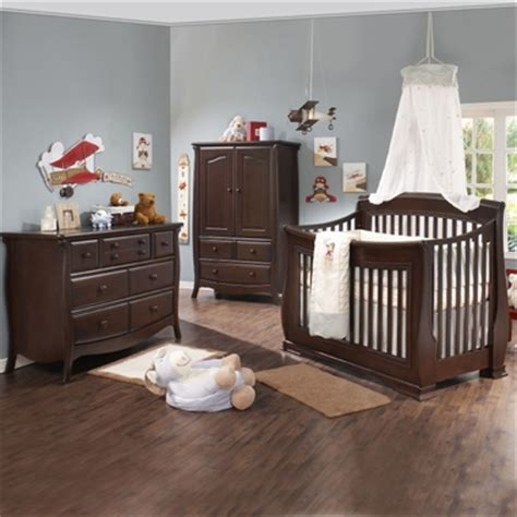convertible crib and dresser set natart crib 3 set in cocoa simply baby furniture