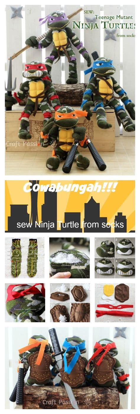 ninja gi pattern sock ninja turtle doll free sewing pattern sewing