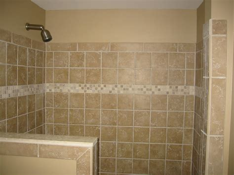 half bathroom tile ideas shower half wall tile bathroom renovations