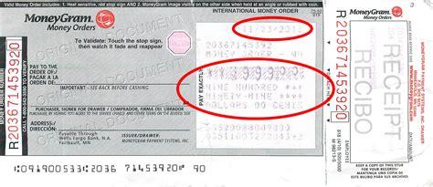 Moneygram Money Order Receipt Template by Moneygram Money Order Scam Pictures To Pin On