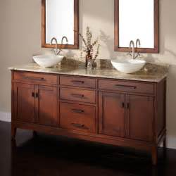 bathroom brown polished wooden bathroom vanities with