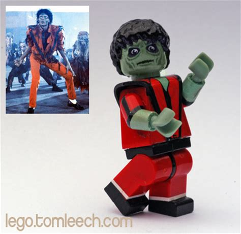 Diskon Michael Jackson Lego Minifigures King Of Pop quot for no mere mortal can resist the evil of the thriller quot flickr