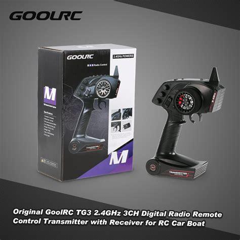 Remote Indovision Digital Receiver Original original goolrc tg3 2 4ghz 3ch digital radio remote
