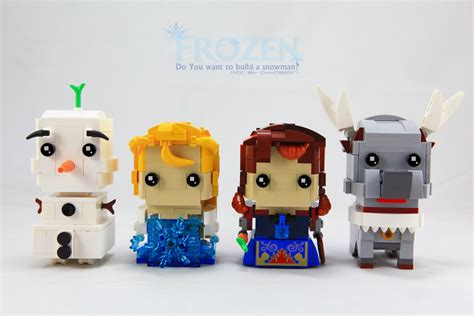 Disney Frozen Brick Minifigure Olaf the world s best photos by hck 1974 flickr hive mind