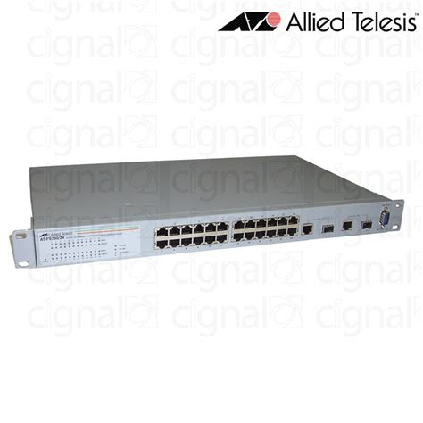 Allied Telesis At Gs910 24 24 Port Gigabit Unmanaged Switch switch allied telesis at fs750 24 24 puertos 2 gigabit sfp cignal it s r l