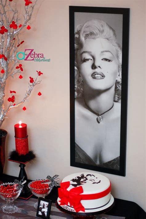 Marilyn Decorations marilyn 15th birthday a to zebra celebrations