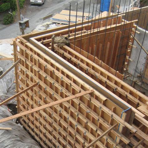 Types Of House Foundations structure steel to concr 171 home building in vancouver