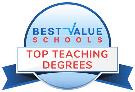 50 Best Colleges For Education by Best Value Schools The 50 Best Value Colleges For