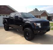 Displaying 16&gt Images For  2012 Ford F150 Lifted Black