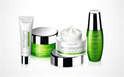 Collagen Oriflame oriflame collagen skin care range the dieline