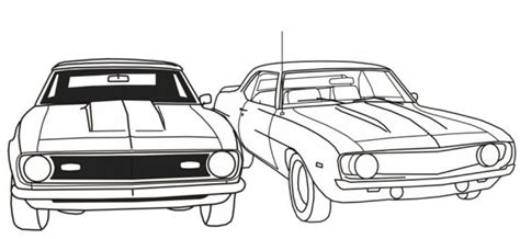 free coloring pictures of muscle cars free printable muscle car coloring picture for boys
