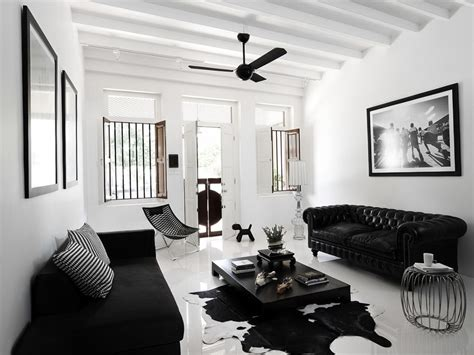 black and white home interior black and white interior ideas for shophouse ideas for