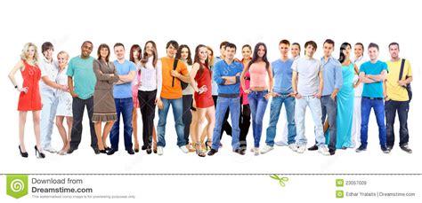 imagenes libres estudiantes estudiantes grandes del grupo sobre el fondo blanco