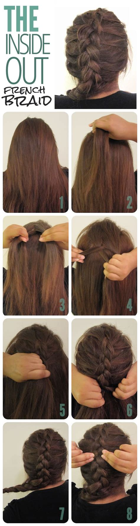 25 best ideas about inside out french braid on pinterest best 25 dutch braid tutorials ideas on pinterest dutch