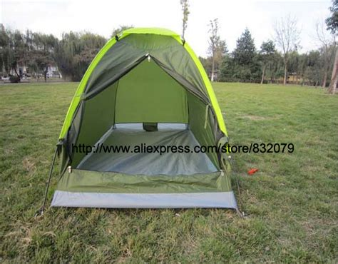 tent deck free shipping tents 200 100 110 outdoor cing folden tent 1 person single deck waterproof