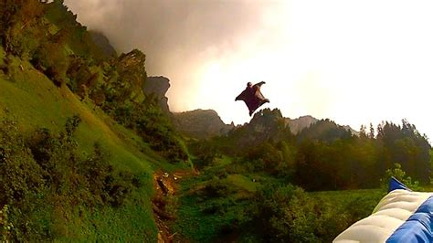 polli wingsuit downhill gate bashing the precision of human flight herald sun