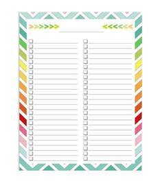 print check template word 50 printable to do list checklist templates excel word