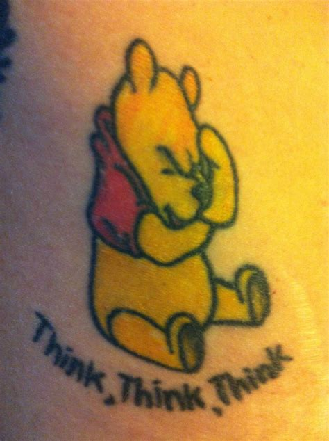 i want a tattoo winnie the pooh finally found the one i want