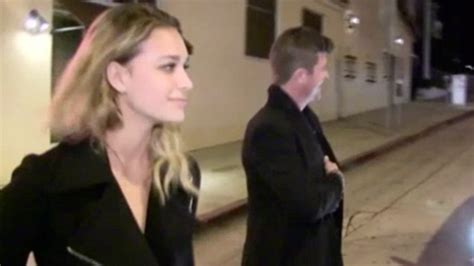 april love geary robin thicke robin thicke is all smiles while out with april love geary