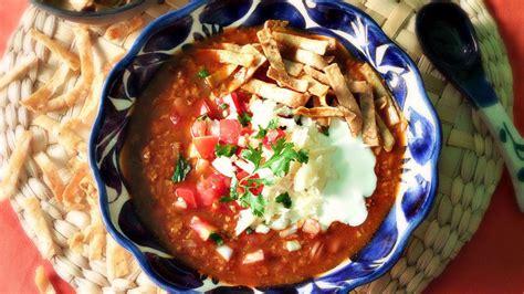 imagenes sopa azteca receta de sopa azteca f 225 cil que rica vida