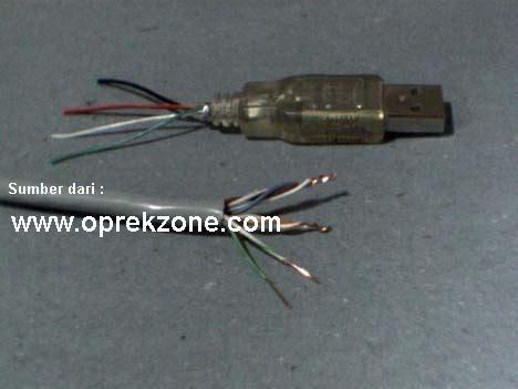 Kabel Usb Konektor Untuk Pc Modem Flashdisk cara membuat usb extender dengan kabel utp gudang ilmu